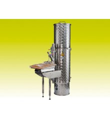 Electro-pasteurizer with tube heat exchanger