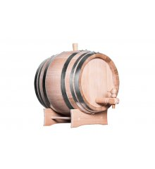 Oak wine, whisky barrel 15 liters, wooden tap