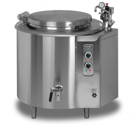 Electric boiling pan - 100 litres