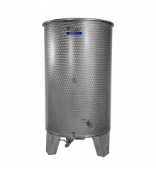 Open top fermentation tank for wine, cider